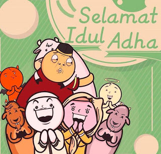 Kumpulan Gambar Ucapan Lebaran Idul Adha 2018/2019