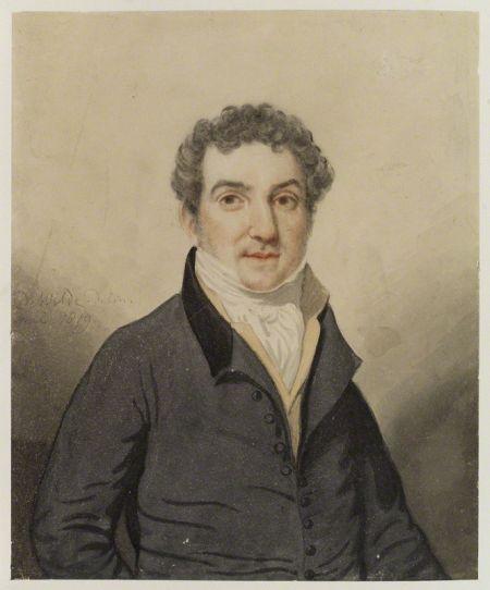 portrait de De Wilde 1819