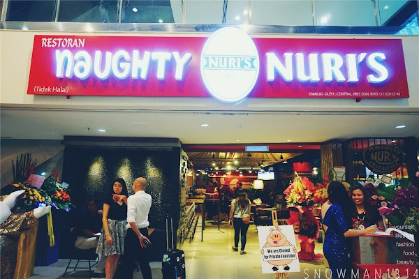 Naughty Nuri's 3rd Outlet @ KL Life Centre
