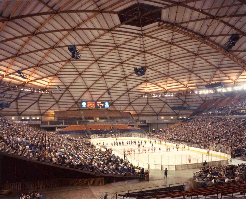 Washington State History T Tacoma Dome