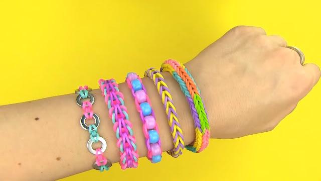 Bracelets En Bandes Elastiques