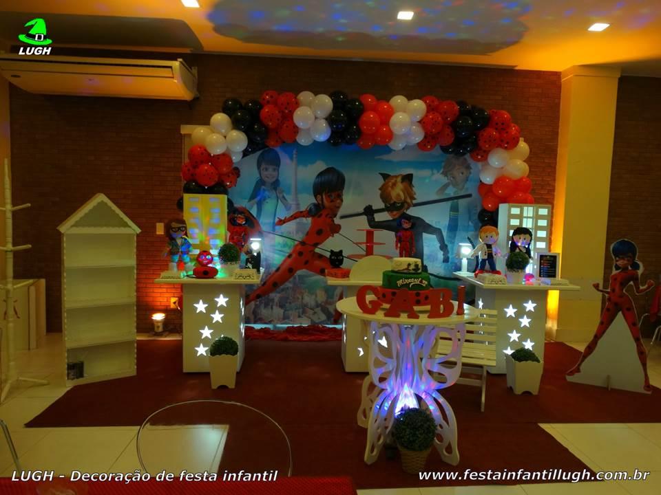 Decoração festa Miráculous Ladybug