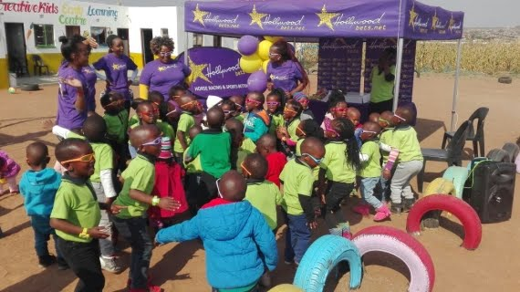 Hollywoodbets Polokwane at the Creative Kids Early Learning Centre - Mandela Day - 67 Minutes