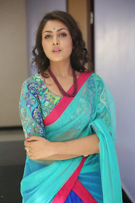 Madhu Shalini Latest Photos in Half Saree at