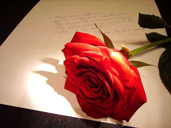 sevgiliye şiir yazmak