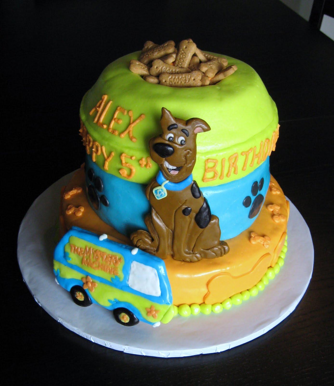 Edible Scooby Doo Cake Decorations
