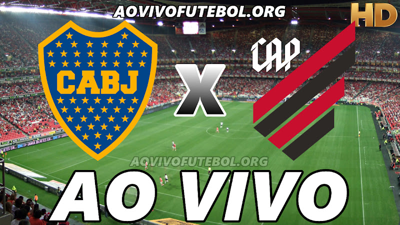 Boca Juniors x Atlético Paranaense Ao Vivo na TV HD