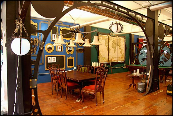 Steampunk Decorating Ideas Victorian Punk Rock Style Creates The Theme Steam