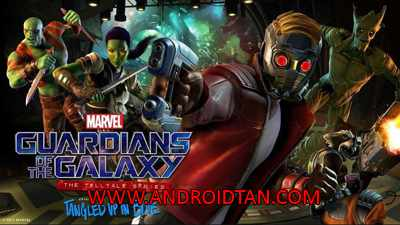 Guardians of the Galaxy TTG Mod Apk + Data v1.05 All Episodes Unlocked Terbaru 2017