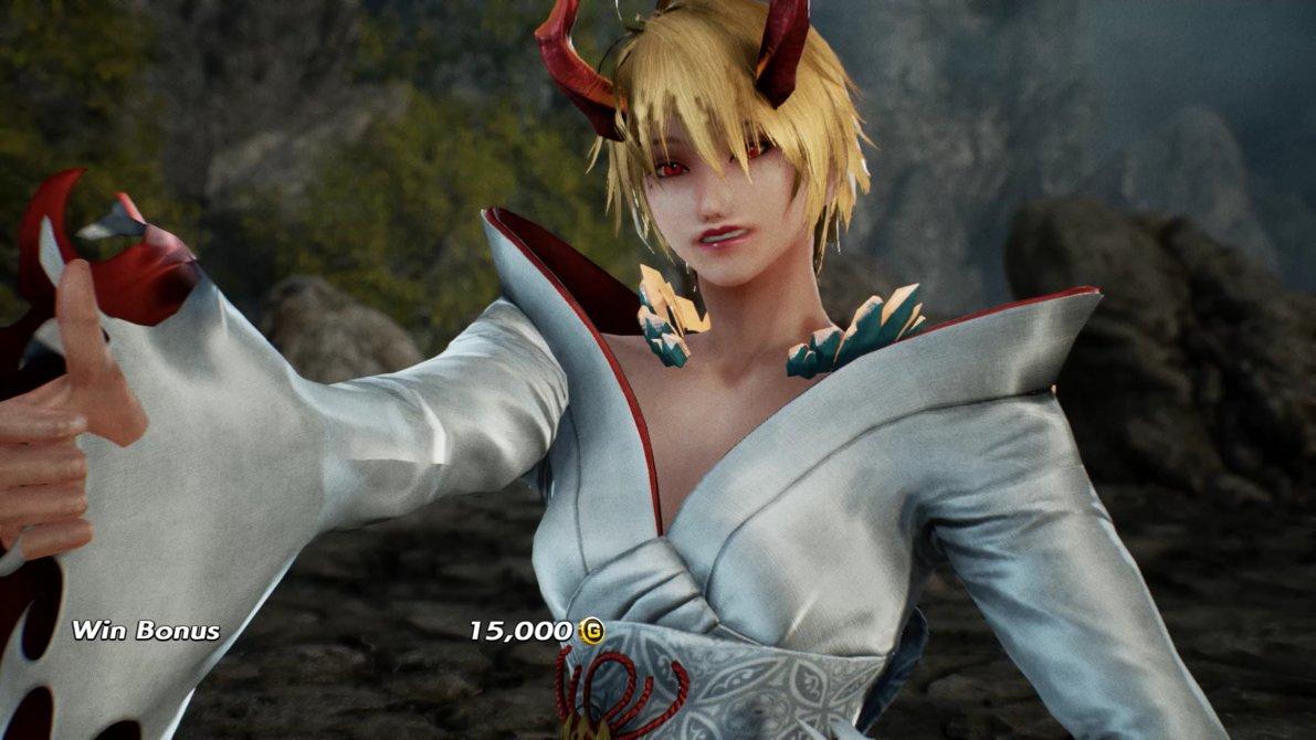 Devil Kazumi Cosplay and Gigas Lili UPDATE (Tekken 7 Mod)