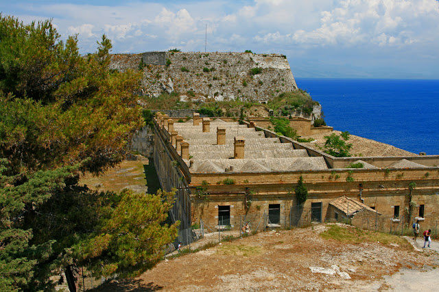 Old Fort. Kerkira. Corfu. Greece. Старая крепость. Керкира. Корфу. Греция.