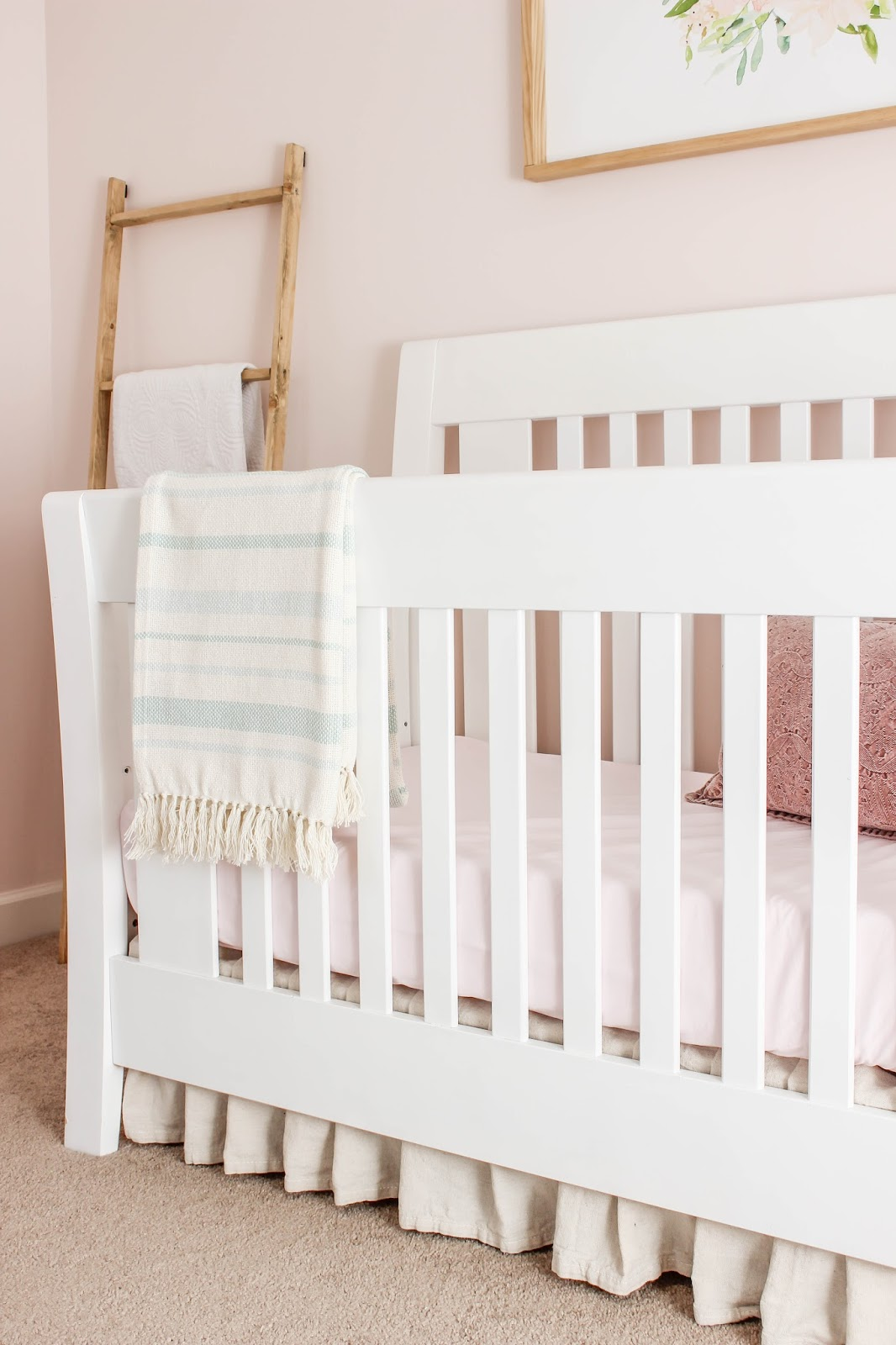 how to make your own crib skirt