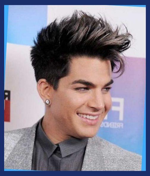 celebrities hairstyles adam lambert