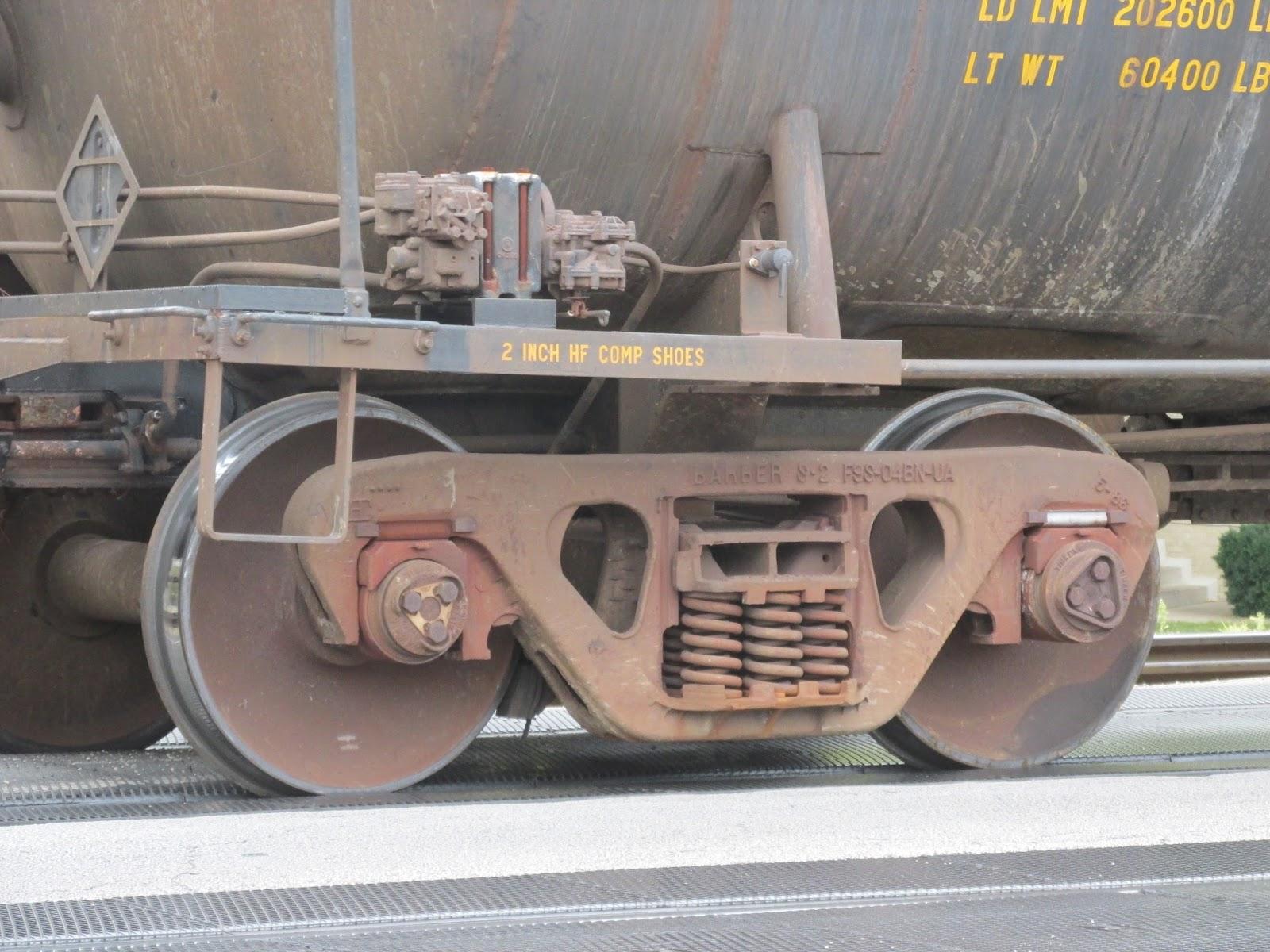 Eddie's Rail Fan Page: A modern roller bearing freight car