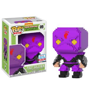 Pop! 8-Bit: TMNT – Purple Foot Soldier (500pc LE)