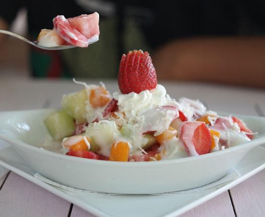 Famous Fruit and Vegetable Indonesian Salad