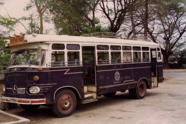 Thailand - Chiang Mai - School bus