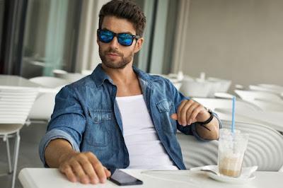 tips memilih kacamata hitam pria