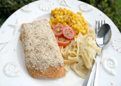 Honey Dijon Salmon Steaks