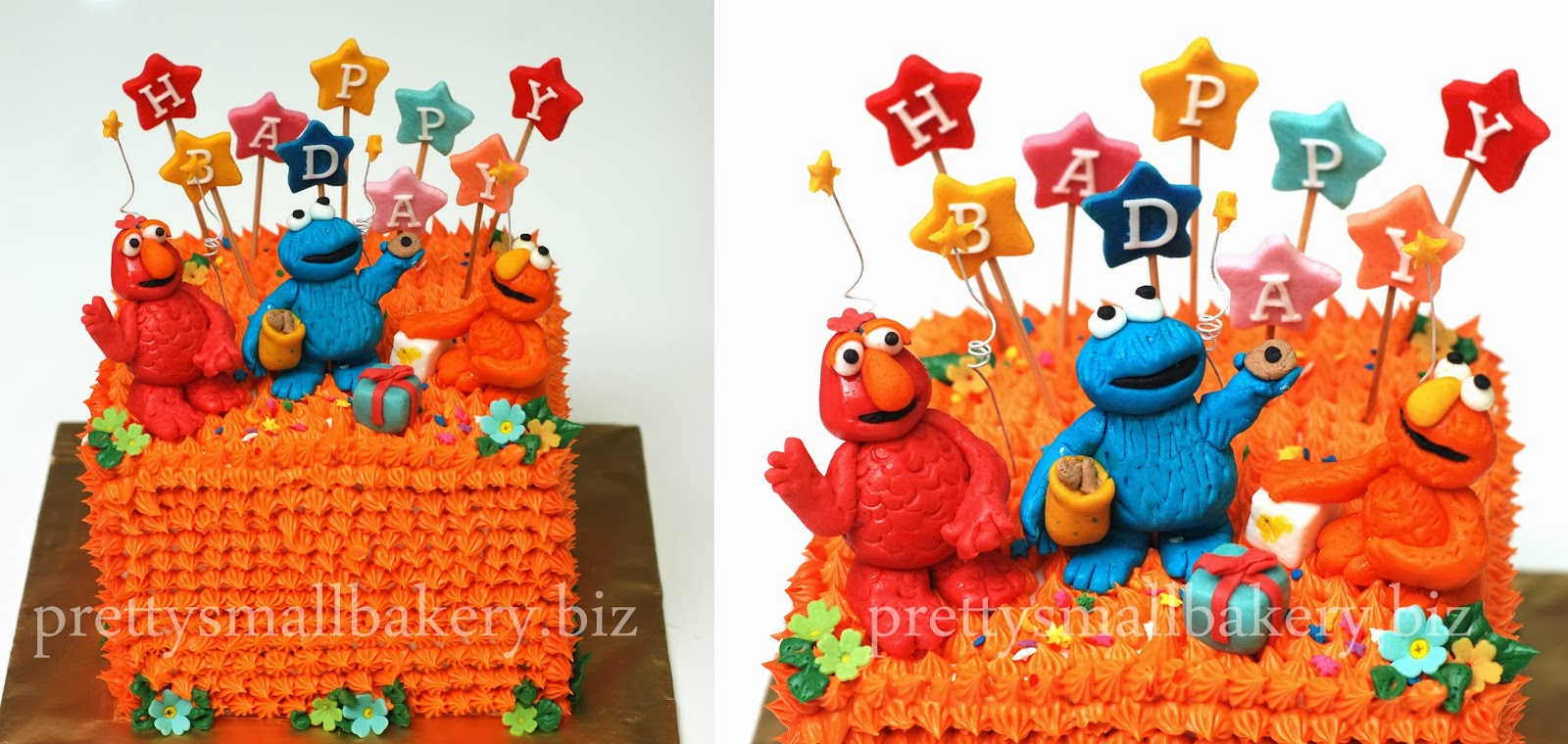 Kek Elmo And Frens Prettysmallbakery