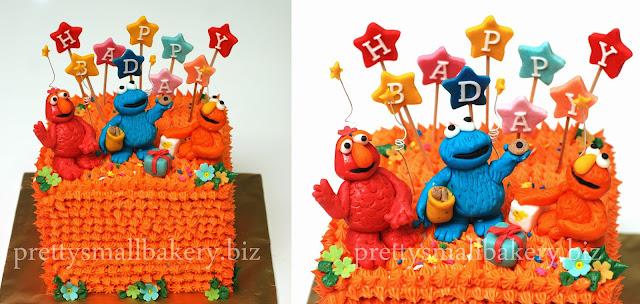 Kek Elmo And Frens Prettysmallbakery