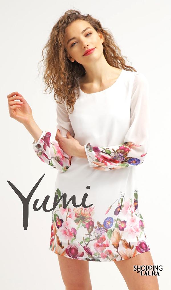 Robe à fleurs chic manches longues : Yumi