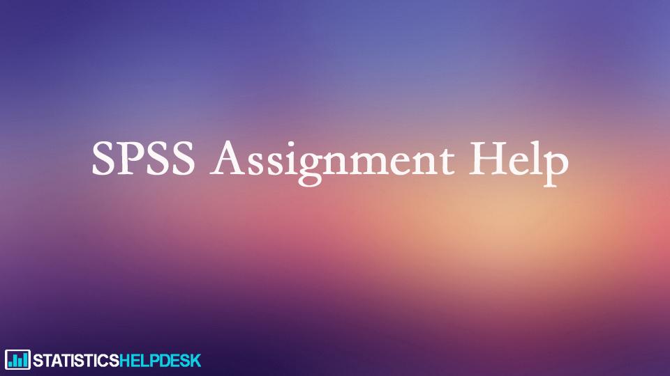 ANOVA Using SPSS Assignment Help