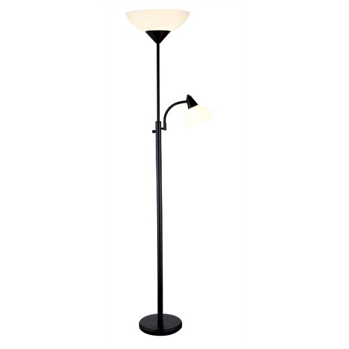 PS Mom Reviews: Floor Lamp with Reading Light from Wayfair