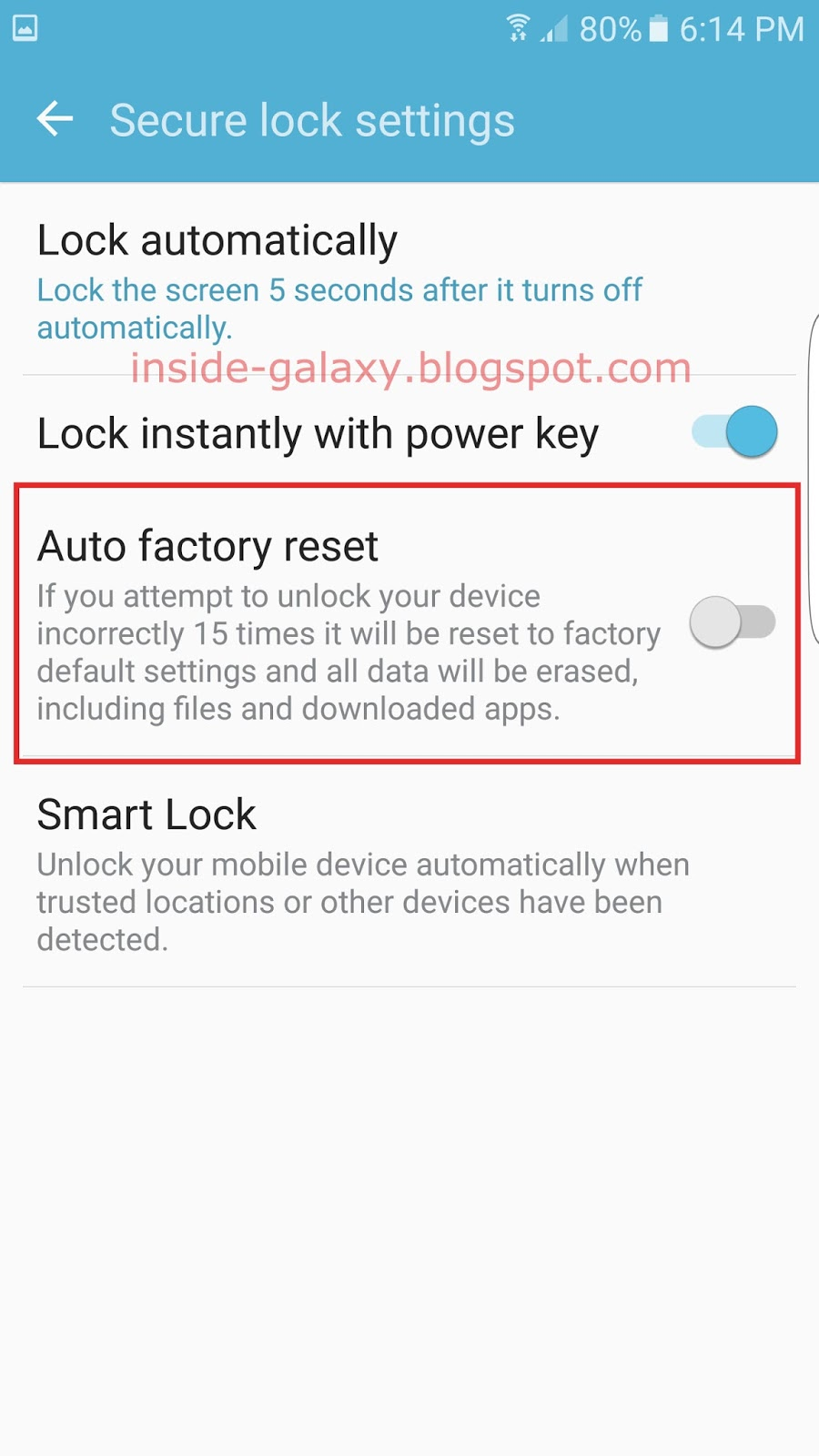 Samsung galaxy s7 edge screen auto rotate off alarm 14