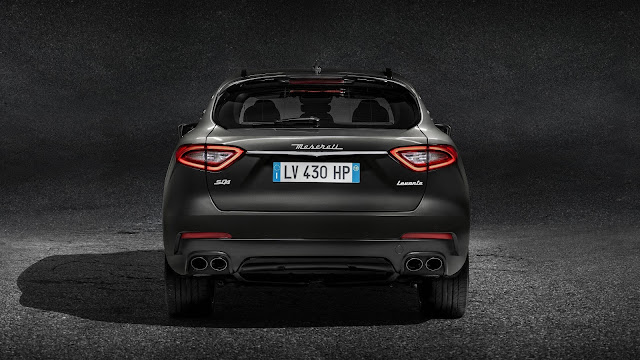Maserati Levante S SUV Rear view pics