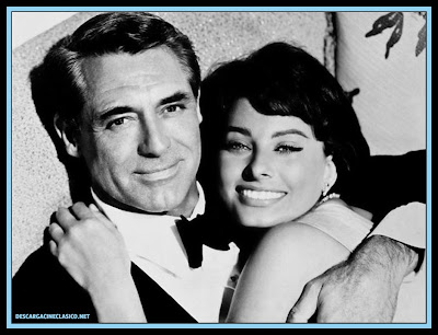 Cary Grant y Sophia Loren