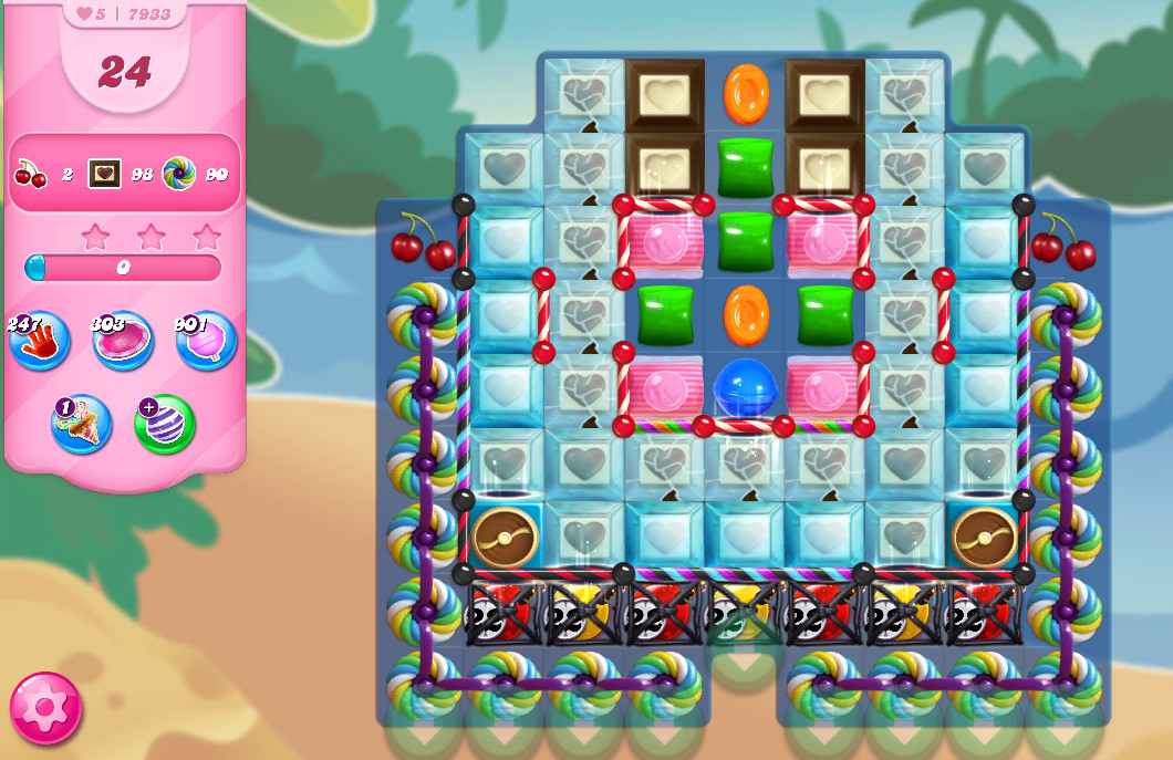 Candy Crush Saga level 7933