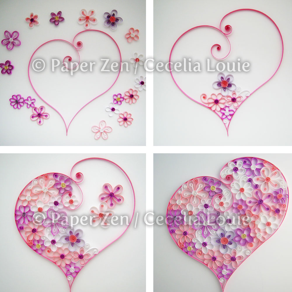Origami Heart Template Printable