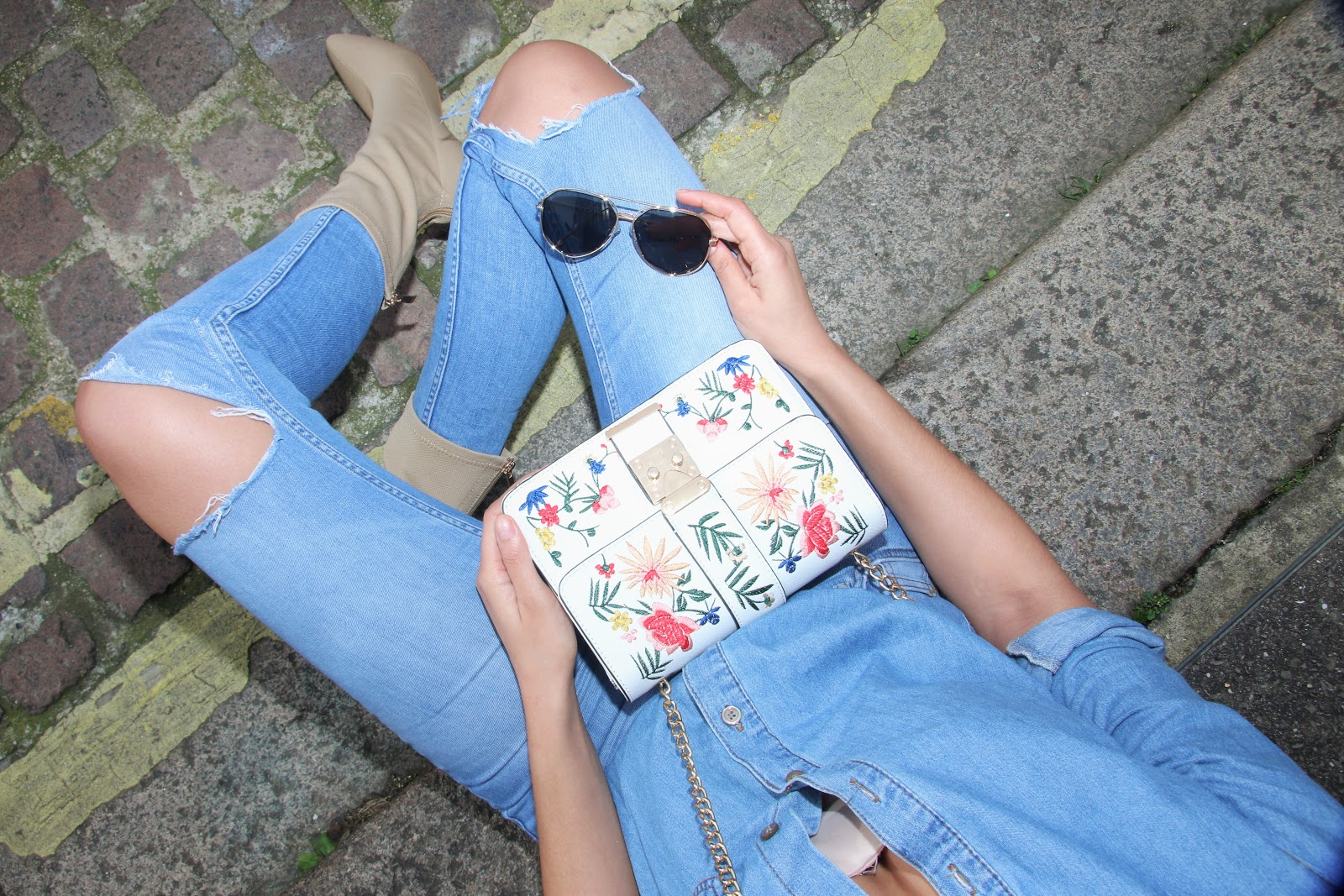 fashion, asos, denim, double denim, springlooks, spring lookbook,