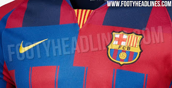 reputable site 449ff 961cb FC Barcelona Kits - leaked soccer
