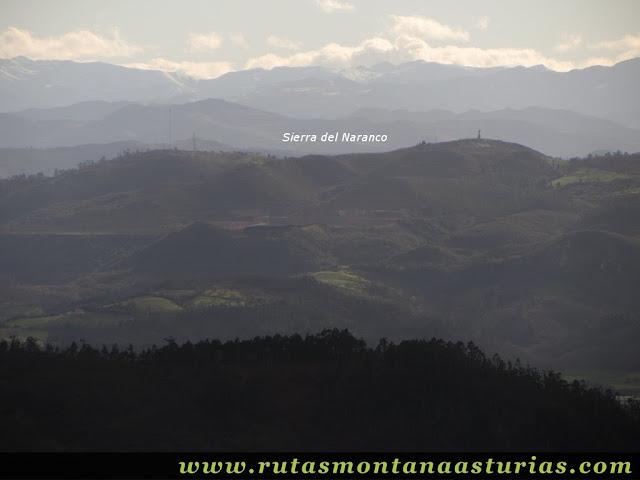 Vista de la Sierra del Naranco