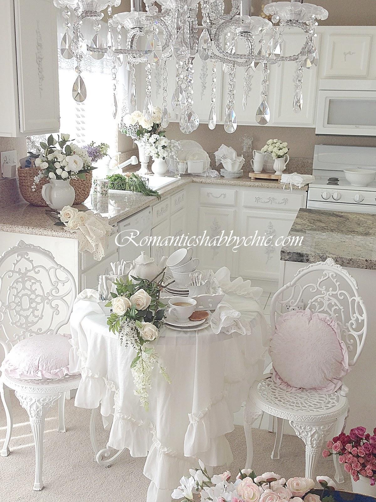 my shabby chic home romantik evim romantik ev my shabby chic kitchen. Black Bedroom Furniture Sets. Home Design Ideas