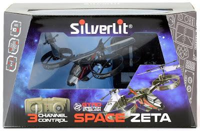 TOYS : JUGUETES - Silverlit 84722 - Space Zeta Helicoptero RC Radiocontrol DRONES | comprar en Amazon España