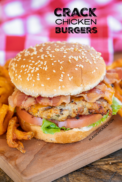 How to make the best homemade chicken burger