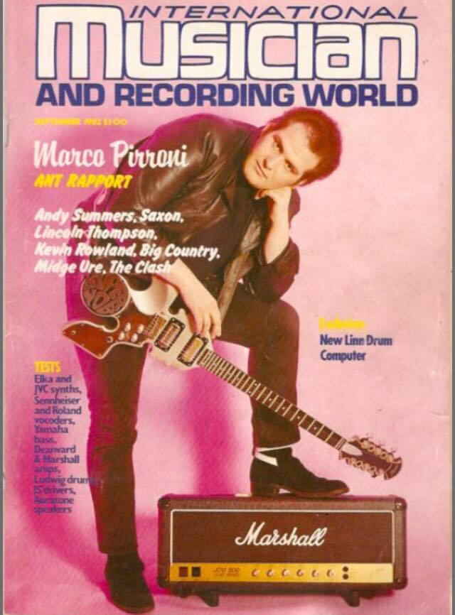 Image provided by Marco Pirroni