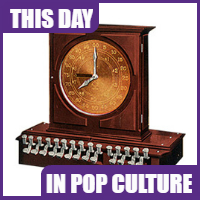 The first cash register was patented on November 4, 1879.