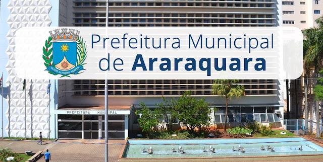 Prefeitura de Araraquara - SP lança edital de Concurso para 28 vagas