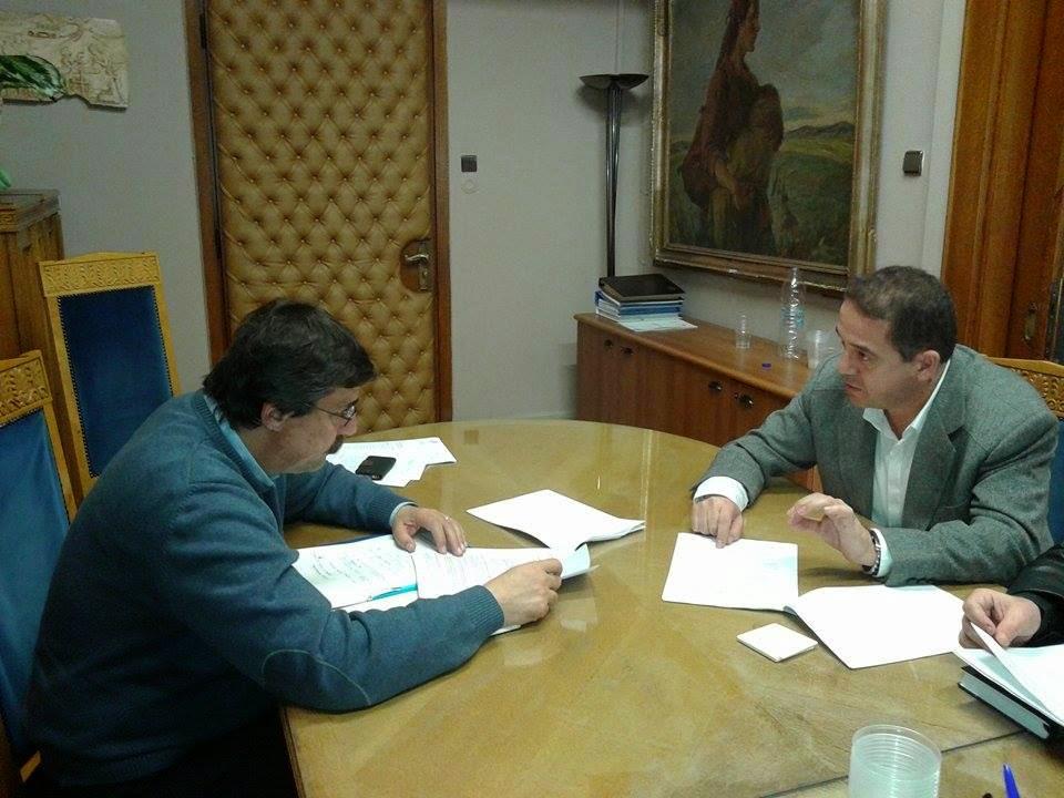 Συνάντηση του Αντιπεριφερειάρχη Υγείας Σταύρου Γιαννακίδη  με τον Αναπληρωτή Υπουργό Υγείας Ανδρέα Ξάνθο για τα επείγοντα θέματα  των νοσοκομείων της Δυτικής Μακεδονίας
