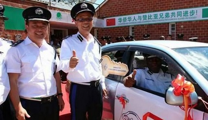 Zambia Makes Chinese Men Police Officers, Citizens Say It's Unacceptable