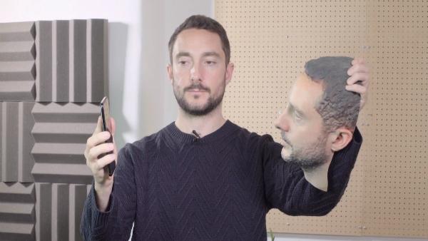 تجربة: تقنية التعرف على الوجوه 3D قابلة للاختراق