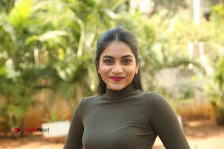Tollywood Actress Punarnavi Bhupalam Latest Po Gallery in Black Trouser Pant at Pittagoda Movie Interview  0190.JPG