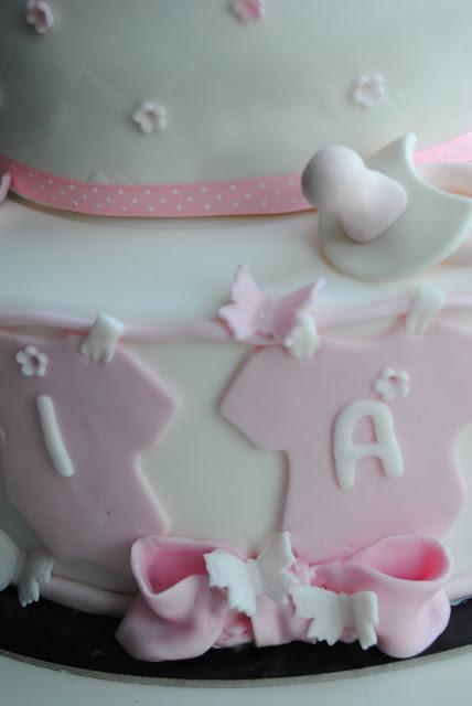 torta battesimo particolare ciucciotto
