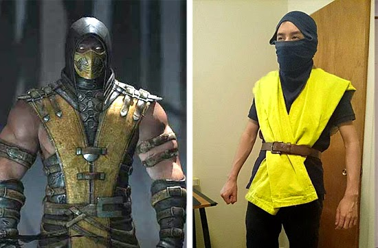 Cosplay Fail- Scorpion