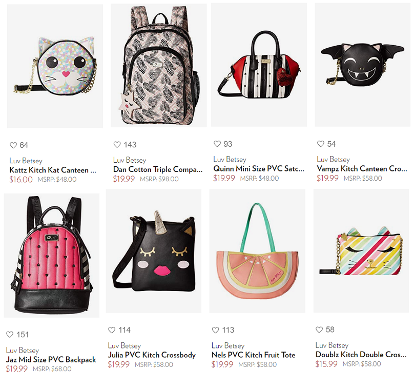 74b5888c0676 Luv Betsey Johnson Purses on Clearance (Many under  20!) Deals and ...