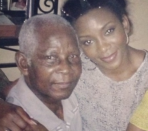 genevieve nnaji father